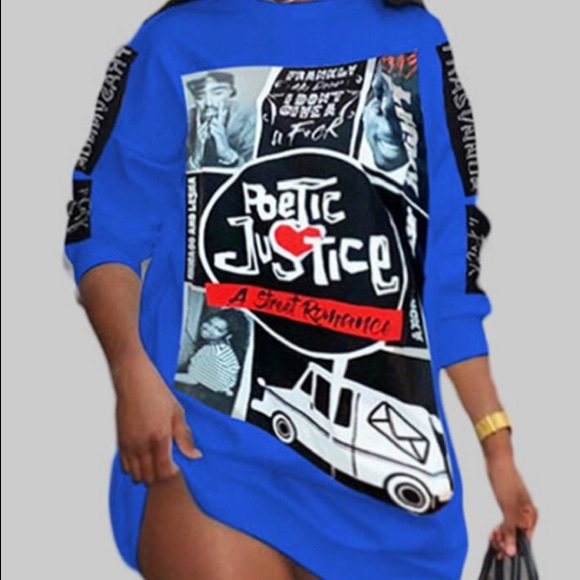 Poetic justice shirt dress